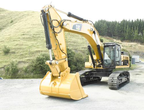 Cat 3450 Digger